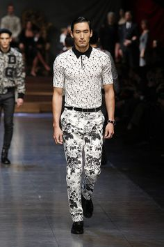 men's floral trend runway show 2016-2017 - Google Search