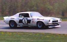 1970 Trans Am Racing Vic Elford Chevy Chaparral Camaro #1 JIM HALL 5x7 LIME ROCK