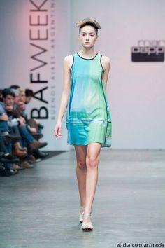 Vestidos de Mariana Dappiano Primavera Verano 2014