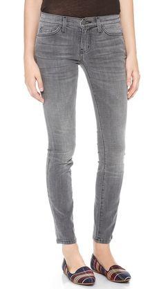 ankle skinny jeans / current/elliott
