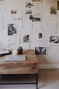 Random favourites as of late - desire to inspire - desiretoinspire.net | ephemera covered wall