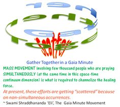 Gather together the scattered energies