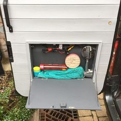 Running Hot Water In A Van Conversion Life Ideas System Ford Transit Kitchen