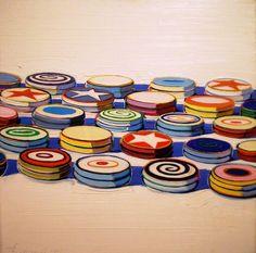 Painting by Wayne Thiebaud