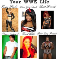 """My WWE Life"" by ittybittykittyy on Polyvore"