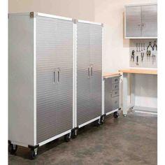 Metal Shop Storage Cabinets & 32 best Metal Storage Cabinets images on Pinterest | Metal storage ...