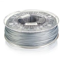 New #filament now available. Amazing #color PLA metallic gray 175 mm for professional #3dprint. #3dprinting #3dfilament #madeinitaly FiloAlfa For all #3dprinter.  Spool 700gr  1804 VAT excl.  Shipping worldwide  For order www.buy.i3d.it info@i3d.it by i3dprinter