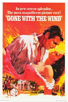Gone With the Wind Magnificent Movie Poster 24x36