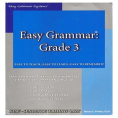 Easy Grammar, Edd, Texts, Teaching, Learning, Texting, Education, Text Messages, Tutorials
