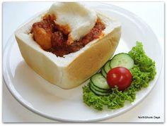 Durban Beef Bunny Chow
