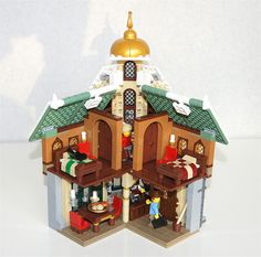 B-OV-16A & V-LV-42A Hi all, This is my entry for the second Winter VIllage Contest. It's a small establishment where travellers can seek lodging and h...