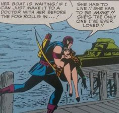Clintasha: Vintage Hawkeye and Black Widow