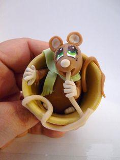 Petit rat au spaghetti - Un grand marché