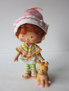 Cafe Ole + Burrito the donkey - Strawberry Shortcake dolls - Google Search