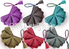 Handmade with Love by SimArtShop on Etsy Crochet Shell Stitch, Crochet Tote, Crochet Handbags, Hand Crochet, Butterfly Bags, Crochet Shoulder Bags, Unique Bags, Knitted Bags, Purses And Bags