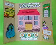 Lapbook dell'accoglienza Interactive Notebooks, Crafts For Kids, Classroom, Activities, School, Cornice, Mamma, Estate, Google