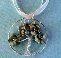Tree of Life  Moss Chips by MissyJean81 on Etsy, $27.00