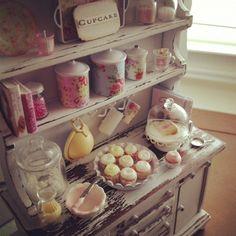 displaying mini sweets!