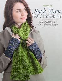 Martingale and Company Sock-Yarn Accessories is a knitting pattern book with patterns to make accessories with sock weight yarn. First Jen Lucas wowed knitters with her hugely popular books featuring sock-yarn shawls. Now she puts sock yarn to beautiful u Knitting Designs, Knitting Patterns, Crochet Hooks, Knit Crochet, Book Socks, Shawl Patterns, Book Quilt, Sock Yarn, Crochet For Beginners