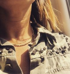 Semi Precious Beads with Room-service Necklace: available on www.thefavorite.fr