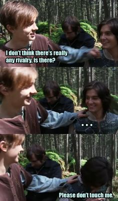 HAHAHA! :D please tell me I am not the only one who said it in their accents!