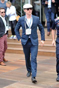 Benedict Cumberbatch, F1 Grand Prix of Monaco