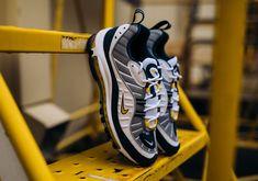 Nike Air Max 98 White/Tour Yellow