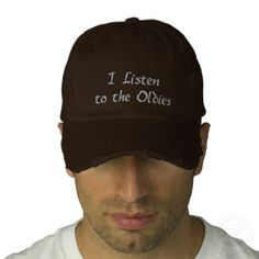 Oldies Embroidered Baseball Cap