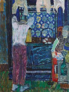 """""""Farmhouse Stove"""" by Joan Eardley, 1950 (oil on canvas)"""