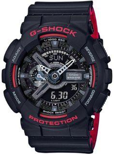 786c8de0b36 Relógio Masculino Casio G-Shock Black analógico relógio digital GA110HR-1A  Melhores Relógios
