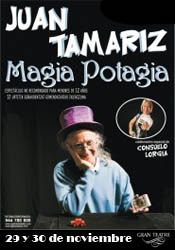 """Juan Tamariz """"Magia Potagia"""" con Consuelo Lorgia http://www.agendalacant.es/index.php/juan-tamariz-magia-potagia-con-consuelo-lorgia"""