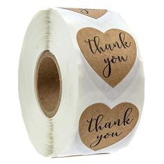 LIOOBO Cookie Bag Labels Hand Writing Thank You Letters Adhesive Baking Packaging Envelope Gift Box Decor Sticker Thank You Labels, Gift Labels, Jar Labels, Thank You Stickers, Label Stickers, Baking Packaging, Diy Shops, Label Paper, Kraft Paper
