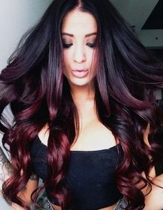 One Step To Own Your Unique Red Ombre Hair Color Vpfashion Black And Ombre Hair Black And Ombre Hair
