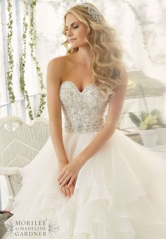 Mori Lee - 2815 - All Dressed Up, Bridal Gown