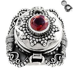 Poison-Ring-Garnet-925-Sterling-Silver-Ring-Jewelry-s-7-SR156998