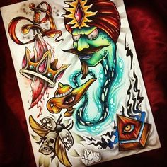 http://tattoomenow.tattooroman.com -  create your own unique tattoo!  #tattoos #sketches #designs #ideas #new_school #old_school