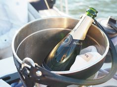 Teljänneito Citylife Blog: Sailing boat party with Balmier cooler and Nicolas Feuillatte