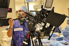 3D BULLET RIG equipped with two CANON XF105 cameras captures cutting-edge vasular surgery in stereoscopic 3D. Stereography and 3D camera rig...