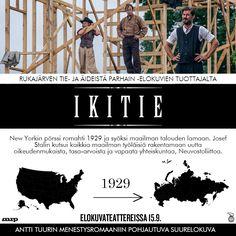 Mitä tapahtui vuonna 1929? 💸  IKITIE elokuvateattereissa 15.9. 🎬  Katso elokuvan uusi traileri!  @NordiskFilmFi