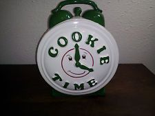 "This was a staple in Monica's kitchen...her ""Cookie Time"" cookie jar."