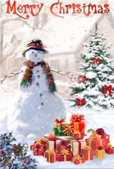 Merry Christmas animation I made ?❄️ Merry Christmas animation I made ? Merry Christmas Wishes Text, Merry Christmas Pictures, Christmas Scenery, Merry Christmas To All, Vintage Christmas, Christmas Eve, Christmas Ideas, Christmas Cards, Xmas