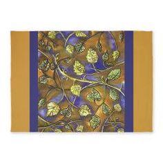 http://www.cafepress.com/kristiehublerscafepressarearugs.763149327 #berry #leaves #raspberry #leaf #nature #bush #green #area #rug at #cafepress $172