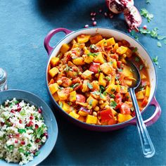 Moroccan vegetable tagine recipe, from 'Family Feasts on a Budget' by Slimming World