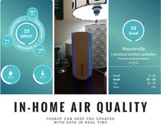 Know Your In-Home Air Quality with Foobot - JenOni #Tech #FreshAir
