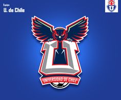 Serie Equipos Chilenos ( Part 1) by Gabo Romero, via Behance Buho Logo, Nfl, Football Art, Logo Concept, Sports Logo, Sport Fashion, Logo Branding, Logo Design, Soccer