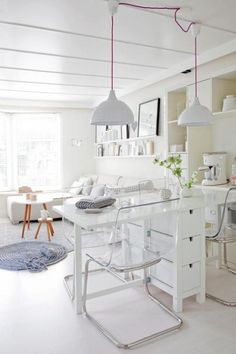 You all know the cheap furniture brand IKEA, and their most used pieces. Today I will show you some cool hacks for the Norden gateleg table ! Small Living, Home And Living, Living Room, Norden Gateleg Table, Ikea Norden Table, Ikea Table Hack, Ikea Dining, Dining Set, Dining Chairs