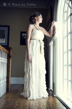 Window Dress Shot Anthropology Wedding www.aphotobyashley.com www.facebook.com/aphotobyashley