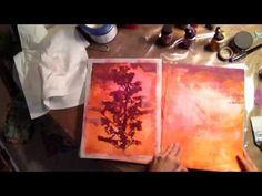 Stencil Technique Using New Release from Cecilia Swatton for StencilGirl