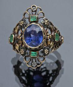 Superb Arts & Crafts Ring by ARTHUR & GEORGIE GASKIN - Tadema Gallery