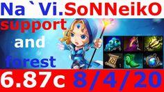 Dota 2 patch 6 87 Crystal Maiden Navi SoNNeikO 8200+ MMR KDA - 8/4/20 sa...